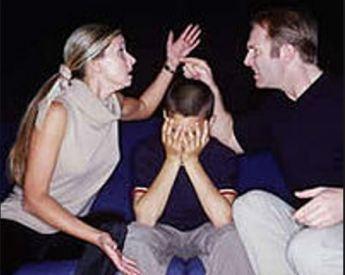 genitori che litigano