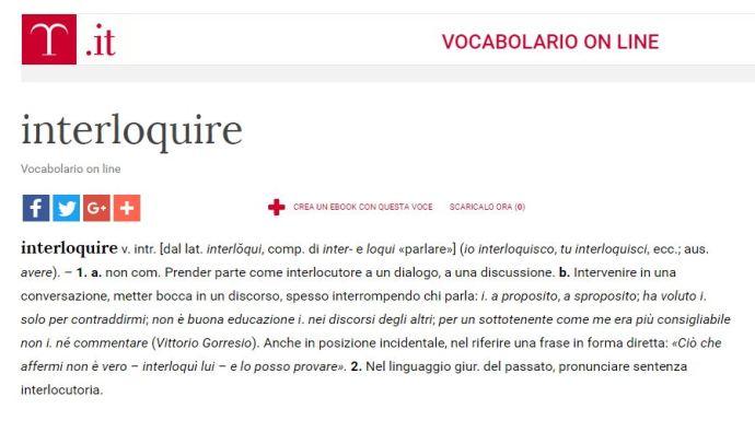 interloquire
